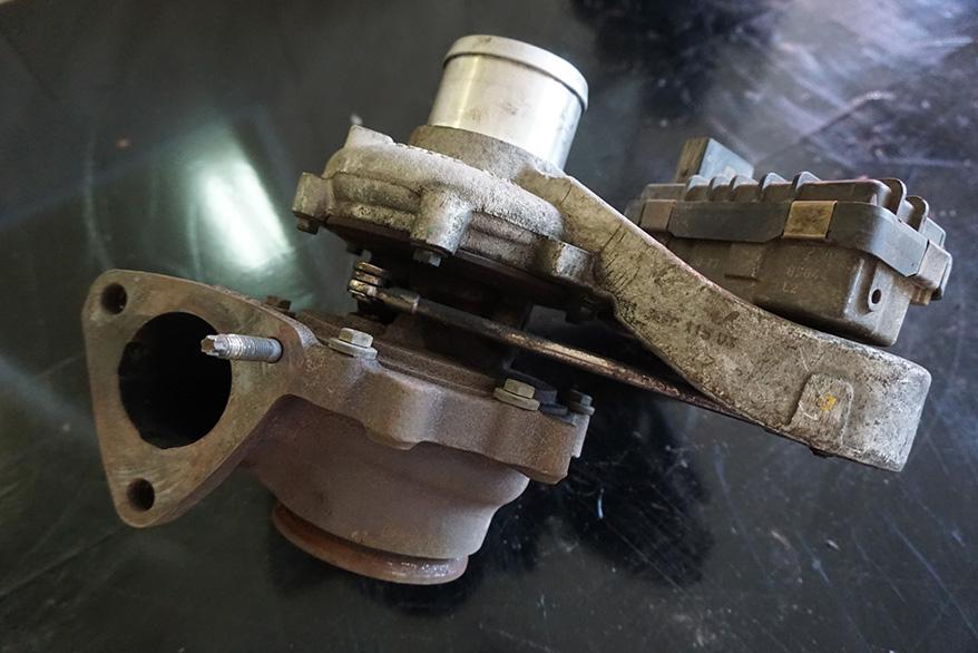 ремонт турбины Пежо Боксер Евро 5