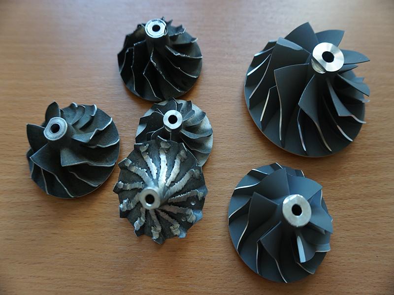 крыльчатка холодной части турбины