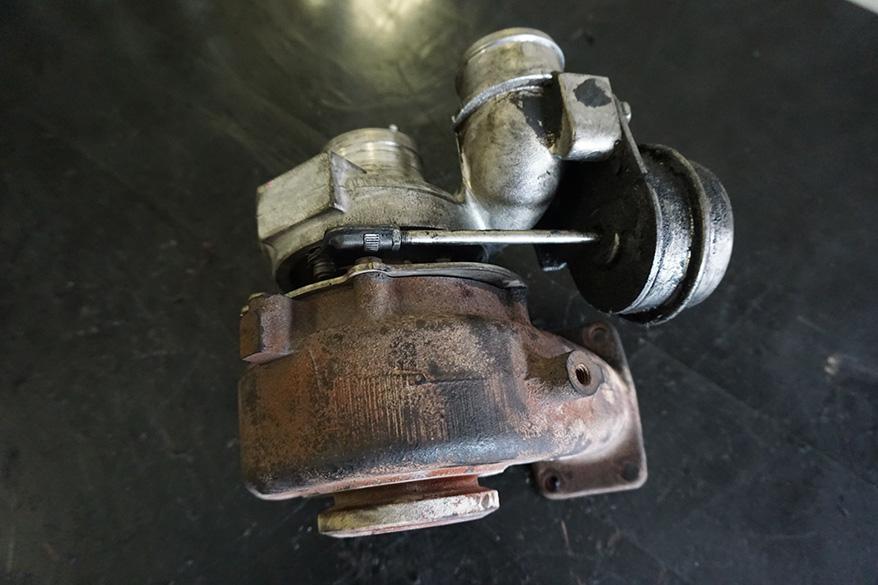 турбина на Volkswagen Crafter до ремонта