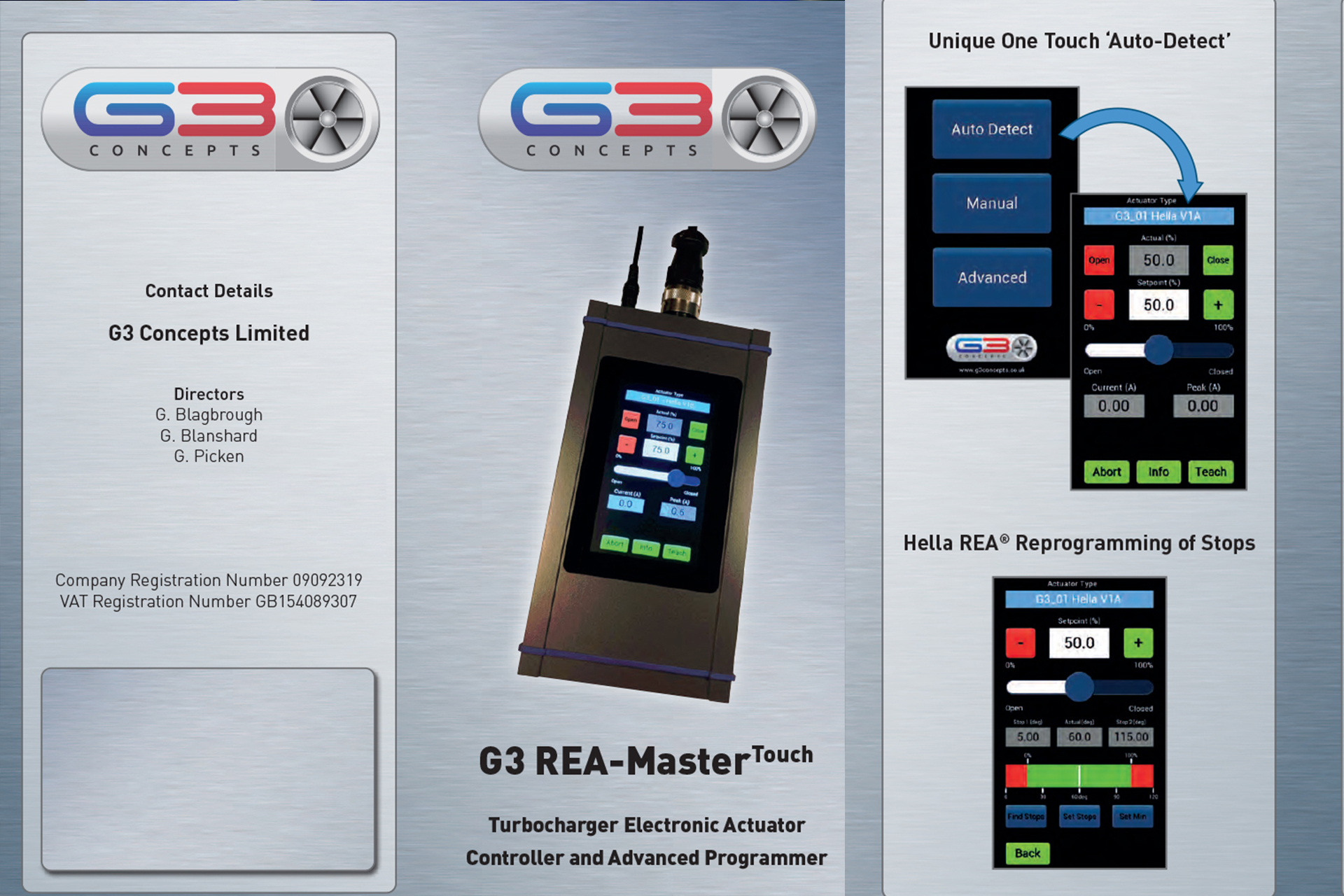 G3 REA-MasterTouch